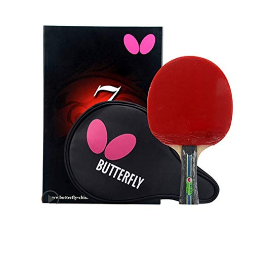 Find Bargain SHENGSHIHUIZHONG Table Tennis Racket, Double-Sided Anti-Stick Racket, Professional Grad...
