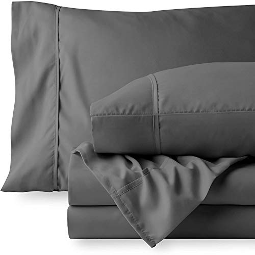 400 Thread Count 100% Cotton Sheet Set for King Size Bed - 100% Cotton Sheets King Size Deep Pocket 100% Cotton Bed Sheets 100% Cotton Bedsheet Set King Size