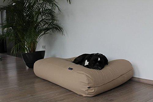 Dog's Companion® Hundebett Beige Baumwolle Small