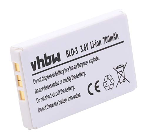 Batteria LI-ION per NOKIA 6610(i) / 7210/7250 / 7250i / 6220/2100 / 3200/3300 sostituisce Nokia- BLD-3