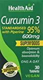 HealthAid Curcumin 3 Vegan Tablets - Pack of 30