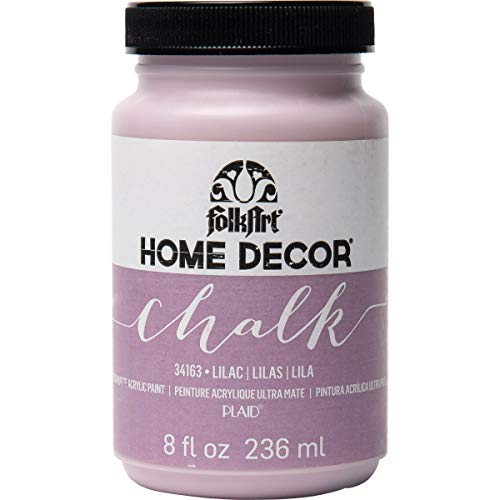 FolkArt Home Decor Chalk Furniture & Craft Paint in Assorted Colors, 8 ounce, Lilac