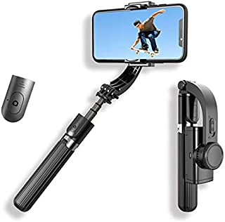 L08 Mobile Phone Stabilizer Anti-Shake Gimbal Stabilizer Selfie Stick Tripod 3 in 1 With Remote Handheld Gimbal Video Shoo...