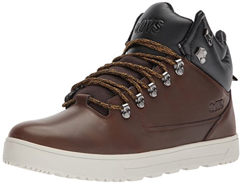 DVS DVSDVF0000298200 - Vanguard+ Homme, Marron (Chocolate Brown Leather), 42.5 EU