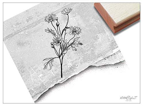 ZAcheR-fineT Stempel met motiefstempel, aardbeiplant, in 3 maten, voor kaarten en knutselen, scrapbook, borden, etiketten voor tuindecoratie, cadeautje