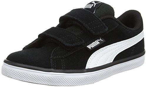 Puma Urban Plus SD V PS, Unisex-Kinder Sneakers, Schwarz (Puma Black-Puma White), 33 EU