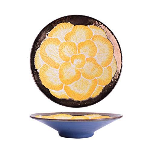 Pan de cerámica Cacerola para hornear para hornear para hornear para hornear para papas al horno, pasta, asado, plato de cazuela, uso diario en casa,Rojo