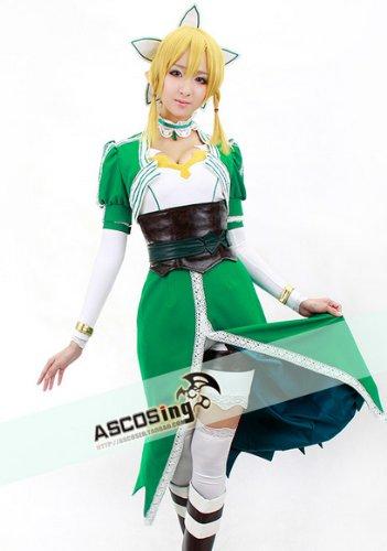 『コスプレ 衣装 COS/COSPLAY コスプレ 衣装 Sword Art Online SAO リーファ(Leafa) / 桐ヶ谷 直葉 女性 サイズM』の7枚目の画像