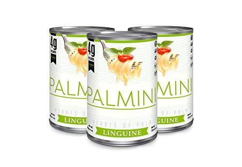 Palmini - Low Carb Linguine | 4g Kohlenhydrate | Bekannt aus Shark Tank | Glutenfrei (400g - 3er Pack)