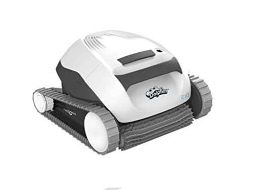 Maytronics - Robot Limpiafondos Dolphin E10 eléctrico, blanco
