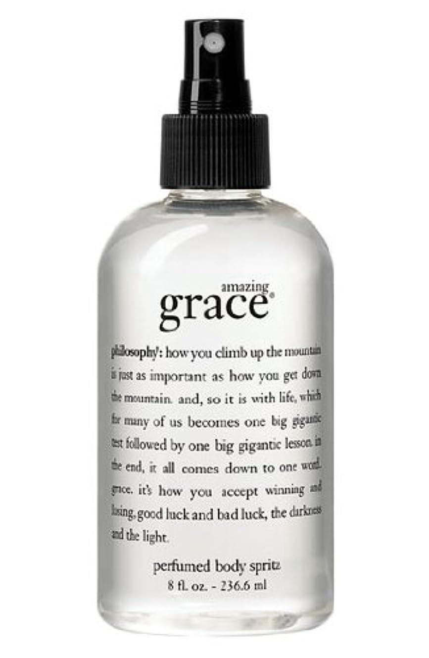 スリッパチャーター口頭amazing grace perfumed body spritz (アメイジング グレイス パフュームドボディースプリッツ) 8.0 oz (240ml) for Women