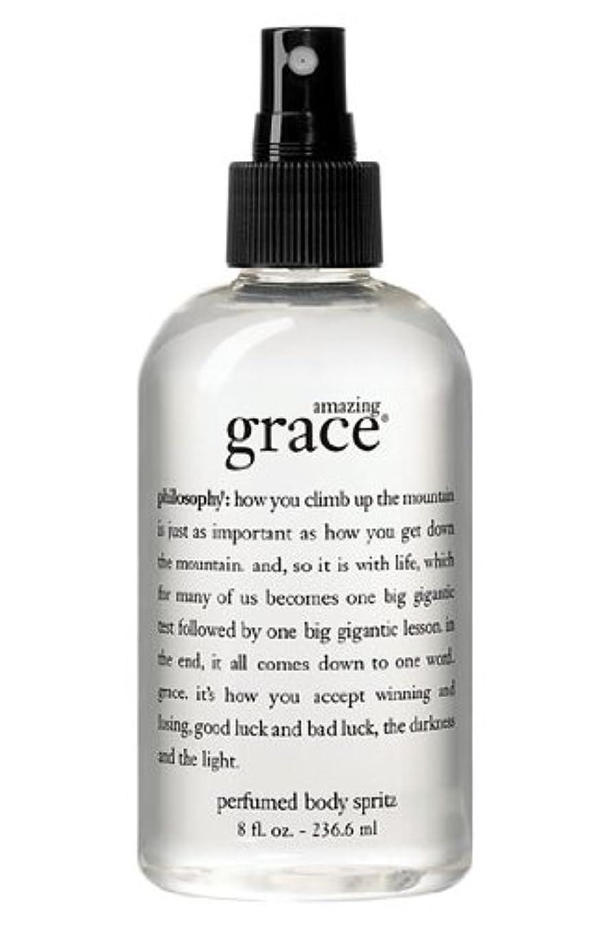 すごい遅い使い込むamazing grace perfumed body spritz (アメイジング グレイス パフュームドボディースプリッツ) 8.0 oz (240ml) for Women