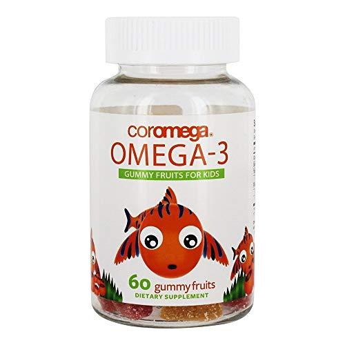 The Coromega Company, Omega 3,Kids,Dha,Fruits 60 Ct Ea 1