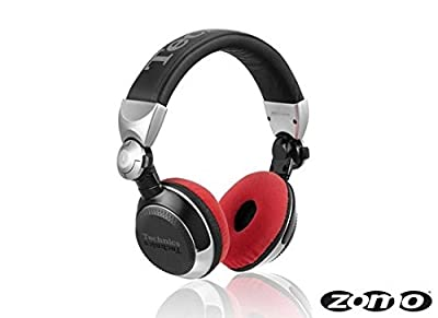 Zomo Headphone Padding Set RP DJ12001210 Velour Red
