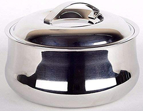 Best Quality Stainless Steel Chapati Box / Casserole set/ / Bread container / Hot pot / Food warmer Food Container 1 Piece