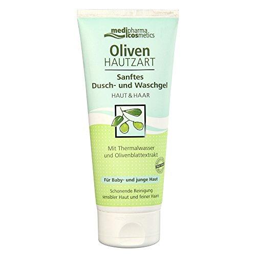 Olivenöl Hautzart Sanftes Dusch- und Waschgel, 200 ml