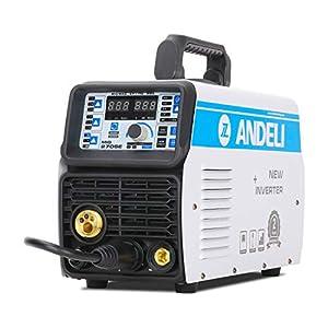 ANDELI Remote Adjustment MIG-270SE MIG Welder,110V/220V Dual Voltage,200Apm,Gas Gasless Mig Welding Machine Mig/Lift Tig…