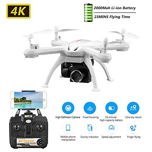 FXQIN Mini RC Drone per Bambini e Adulti Quadricottero RC con Trasmissione WiFi, sensore di gravità, Mantenimento dell'altitudine Drone di Controllo remoto