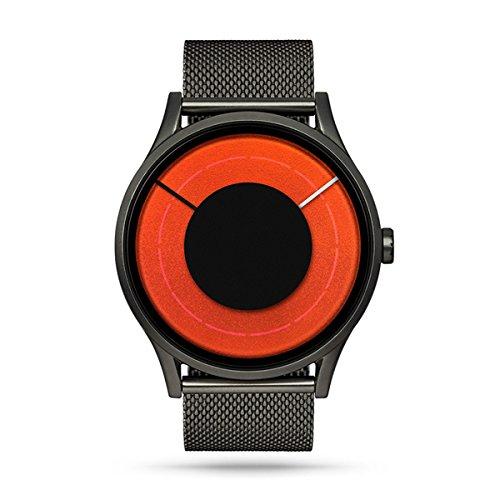 ZIIIRO Solaris Steel Unisex Uhren Gunmetal – Blaze