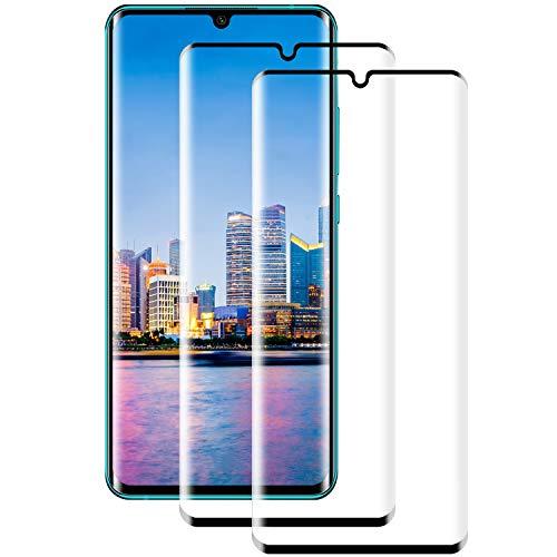 PUUDUU Cristal Templado para Xiaomi Mi Note 10/Note 10 Pro/Note 10 Lite, [2 Piezas] Anti-rasguños, Sin Burbujas, Vidrio Templado para Mi Note 10/Note 10 Pro/Note 10 Lite