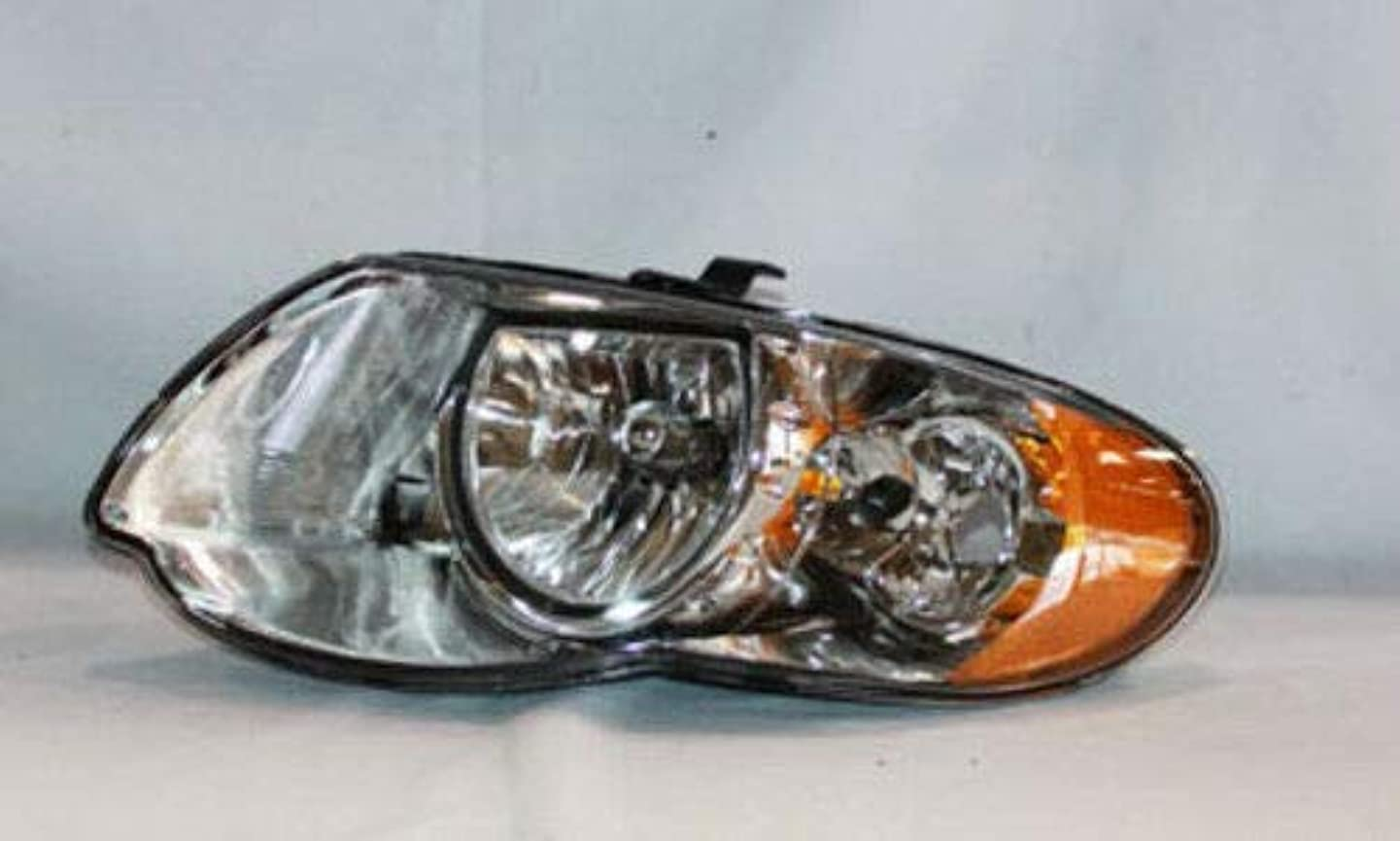 TYC 20-6636-00-1 Chrysler Town & Country Left Replacement Head Lamp