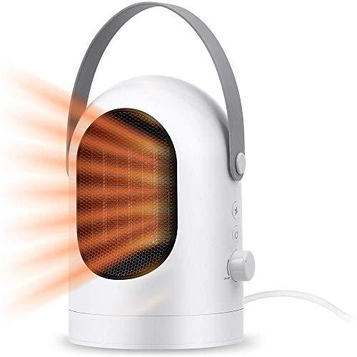 Mini Heater Estufa Eléctrica Portátil de Bajo Consumo, Heater con Enchufe Eléctrico,...