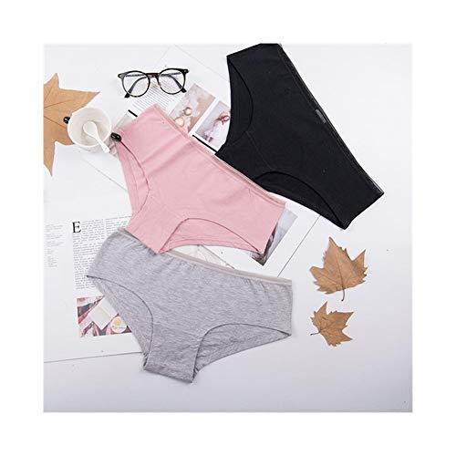 Linyuex Bequeme Damen Cotton Mesh-Transparent Höschen Thongs String Wäsche-Mode-Low-Rise-Frauen-Unterwäsche Seamless Briefs 1pcs (Color : Ac120random, Size : Large)