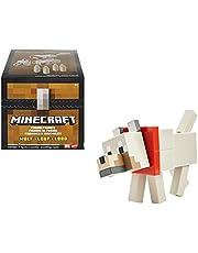 Minecraft Dungeons Lobo Figura de fusión, cofre con juguete con accesorios, regalo para niños +6 años (Mattel GVV16)