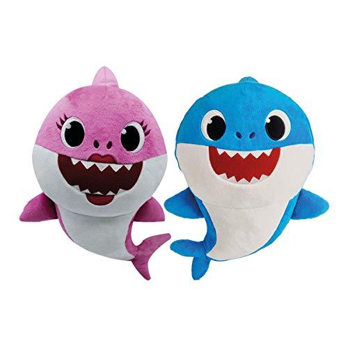 BANDAI ESPAÑA S.A. Baby Shark Peluche Musical - Familia