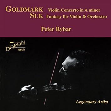 Peter Rybar: Goldmark and Suk