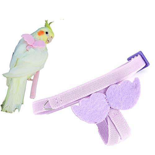 NFY Correa Ajustable para Arnés de Loro para Pájaros, Arnés para Pájaros y Correa con Diseño Antimordidas, Cuerda de Entrenamiento de Vuelo al Aire Libre de Primera Calidad