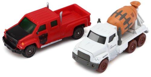 Hasbro Transformers–96259–Tra Mini Vehículos Battle Pack–Mixmaster & Ironhide