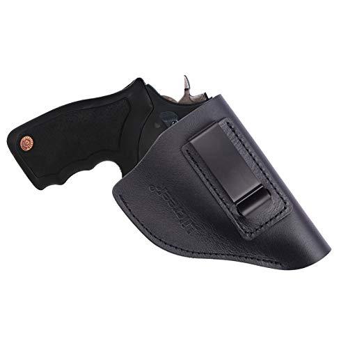 Lilcreek Leather IWB Revolver Holster, Fits Most J Frame...
