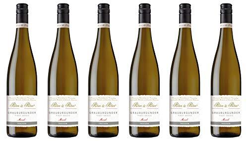 Peter & Peter 2018 Grauburgunder Pinot Grigio trocken (6 x 0.75 l)