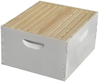 BuildaBeehive.com Bee Hive - 10 Frame Fully Assembled Deep Super Hive Body - The Perfect Hives for Beginners and Pro Beekeepers