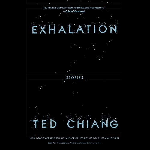 Exhalation audiobook cover art