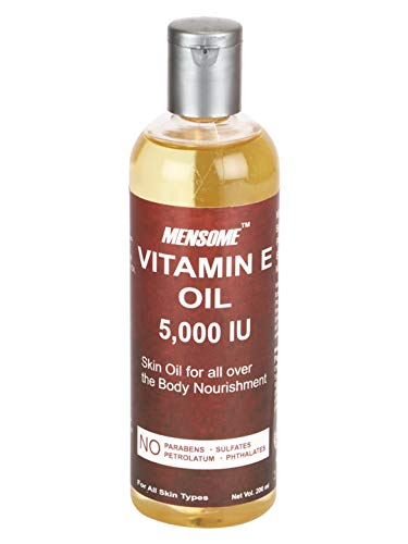 MENSOME Vitamin E Oil 5000 IU For Stretch Marks, Scars, Dry Skin And Hair (200 ml)