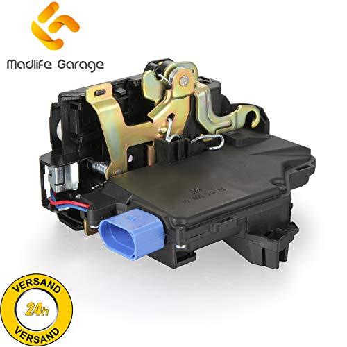 Madlife Garage 3D1837016 Stellmotor Türschloss Schließzylinder mit ZV Zentralverriegelung Vorne Rechts 5P2 Octavia 1Z3 1Z5 Golf Plus Golf V VI Jetta III