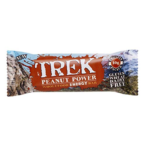 Trek Peanut Power Bar 55 g (Pack of 8)