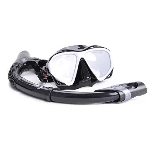 MHSHKS Máscara De Buceo Gafas De Snorkel Cara Completa Máscara De Snorkel Gafas De Natación Equipo De Snorkel Profesional para Adultos O Niños Antivaho Antifugas
