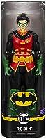 Batman Personaggio da 30 cm Articolato, Versione Grigio/Nero