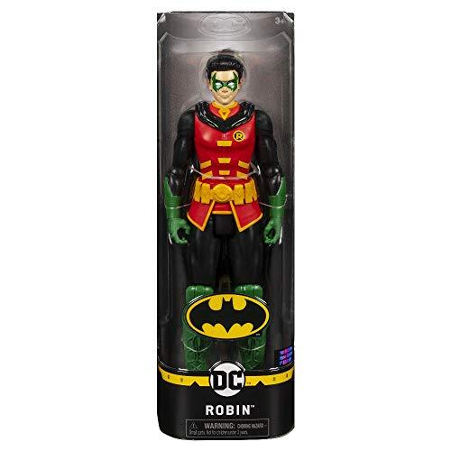 BATMAN Robin, Personaggio da 30 cm Articolato, dai 3 Anni, 6056692