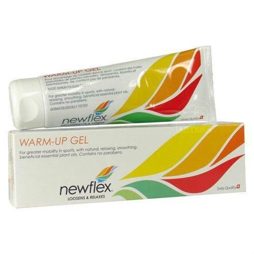 NEWFLEX SWISS QUALITY Warm Up Gel 120ml. natural essential plant oils by SWISS QUALITY