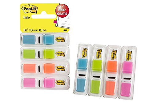 "Post-It 70005040152 - Dispensador 3+1 índex 1/2"""" ⭐"
