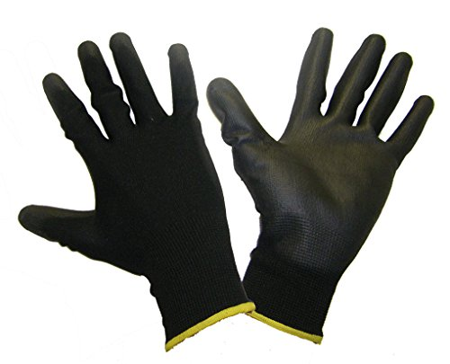 Honeywell 2100251-09/MPP Workeasy Glove Black Size 9 Pack Of 10