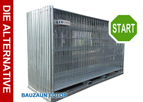 Bauzaun/Mobilzaun EUTOP - Abmessung: ca. 3,50 x 2,00 m