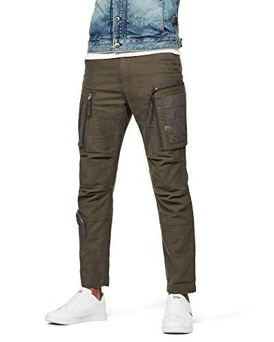 G-STAR RAW Herren Casual Pants Arris Straight Tapered, Asfalt C433-995, 34W / 32L