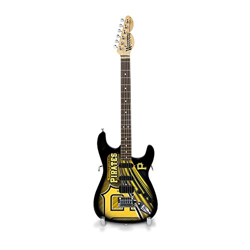 The Sports Vault MLB Pittsburgh Pirates GMMLB22Mini Gitarre, Einheitsgröße, Mehrfarbig