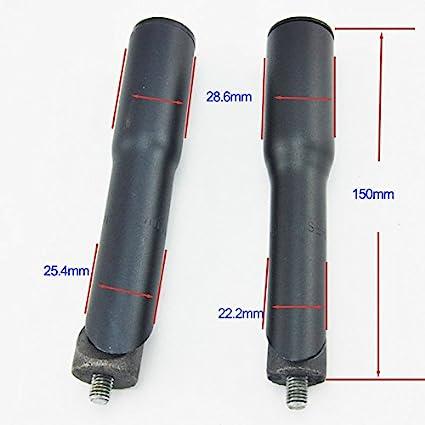 FMF Sport Rallonge 150 mm pour potence de v/élo de route et de montagne 22,2 mm 25,4 mm