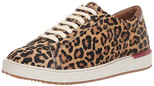 Hush Puppies Women's Sabine Sneaker, Leopard Calf Hair, 09.0 M US